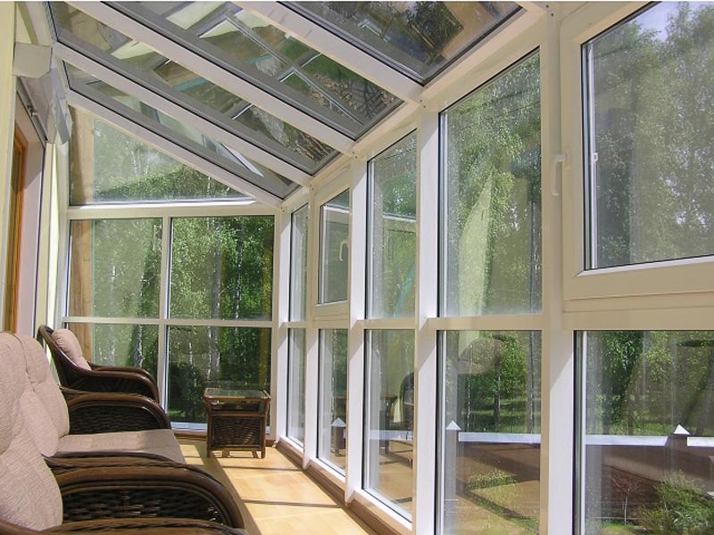 Остекление балконов и лоджий теплый алюминиевый профиль..